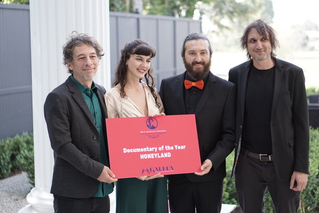Honeyland team with Dorian Award-boyculture