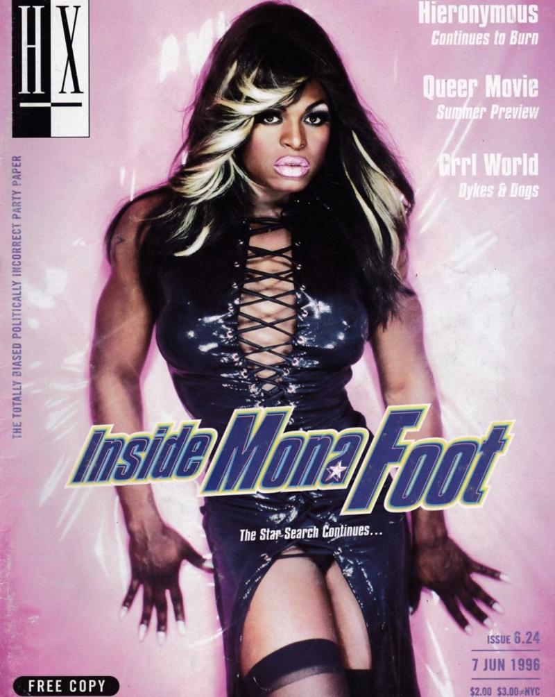 Mona Foot drag queen COVID19 coronavirus boyculture