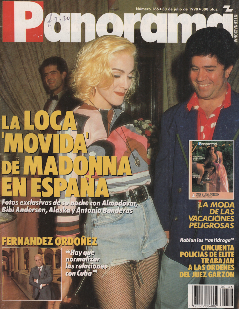Actor Porno Español Gay De Moda note from pedro: director angry with madonna 30 years later