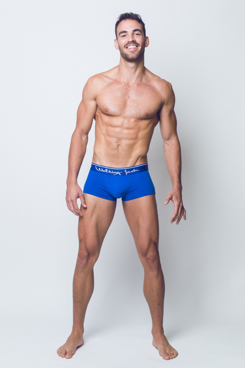Walking Jack - underwear - BLUEBIRD Trunks - FR02-boyculture