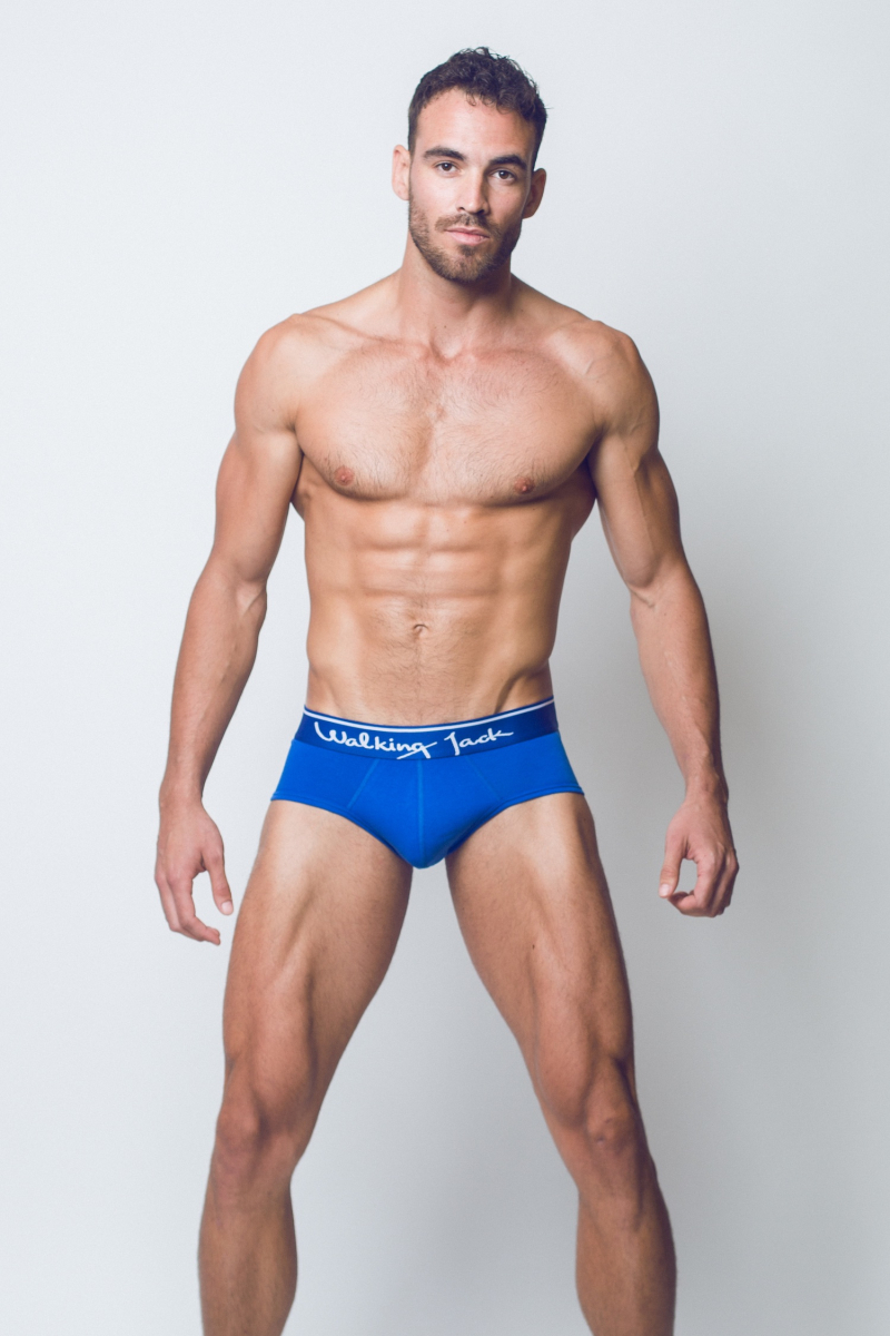 Walking Jack - underwear - BLUEBIRD Solid Briefs - FR01-boyculture