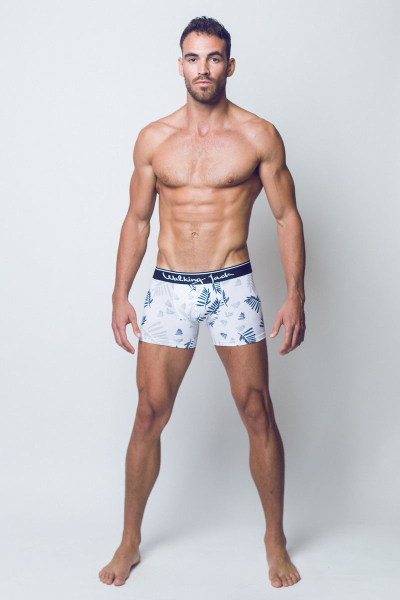 Walking Jack - underwear - FERN Print Trunks - FR01-boyculture