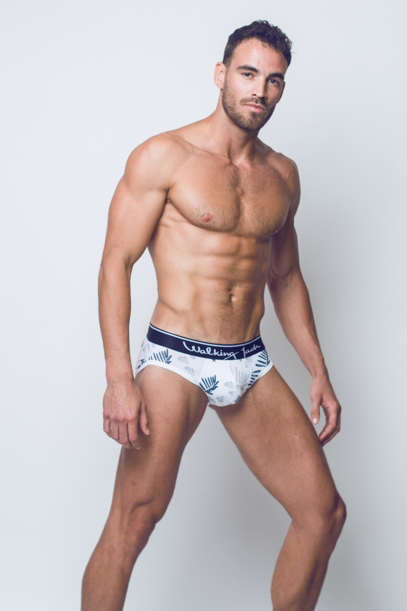 Walking Jack - underwear - FERN Print Briefs - SI03-boyculture