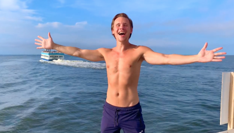 Seth-sikes-shirtless-fire-island-ferry-boyculture