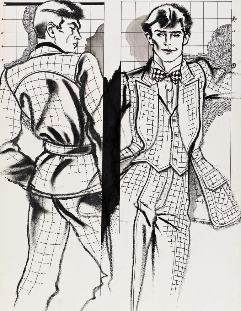 Boyculture-Antonio-Lopez-men-fashion-studies-1974-768x989