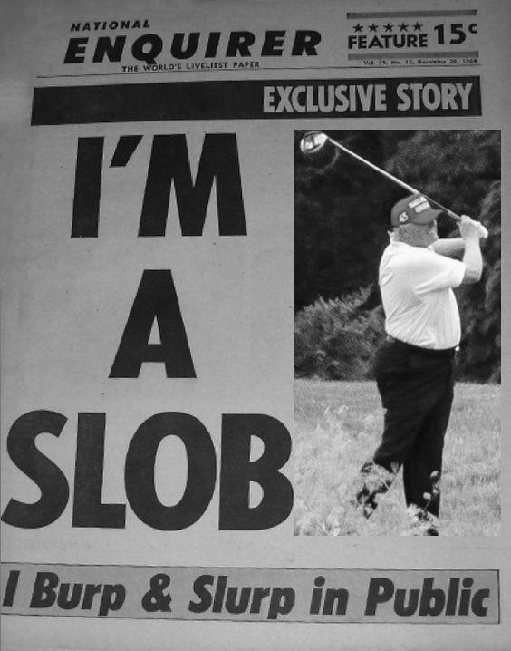 Trump-slob