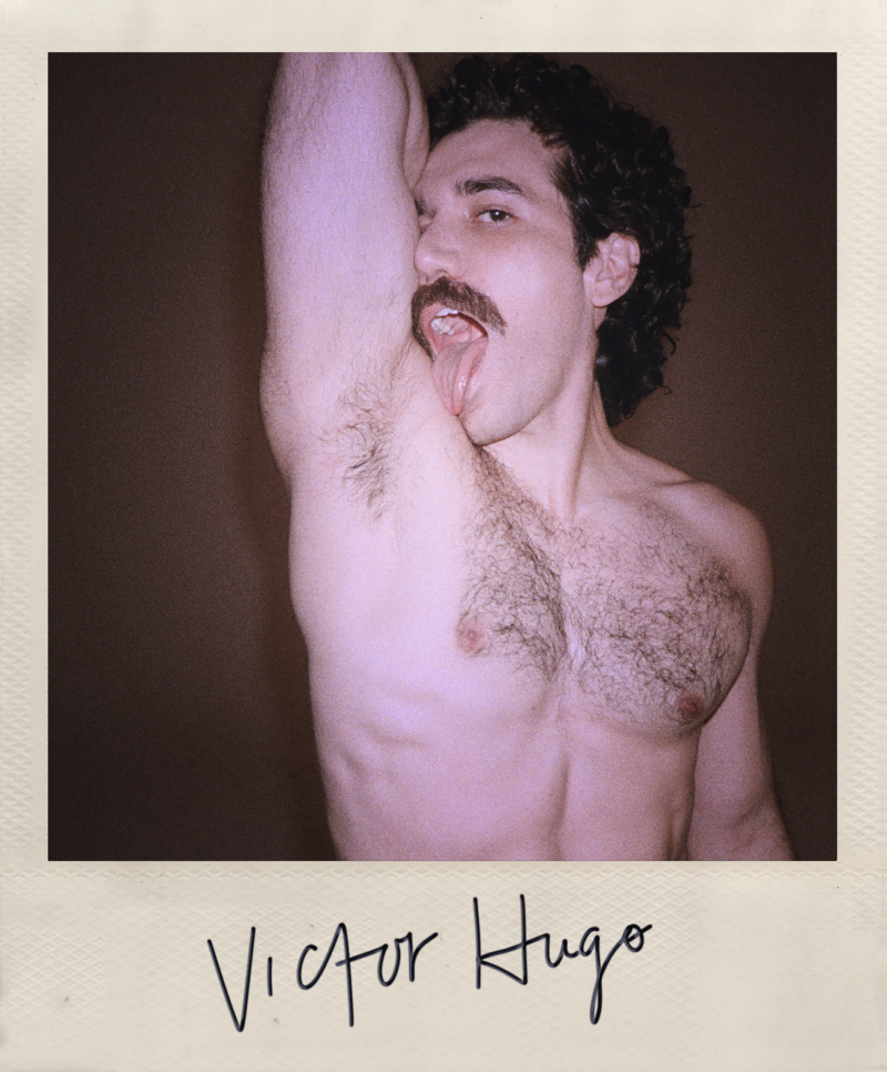 BillyBeyond.com Gian Franco Rodriguez plays Victor Hugo in Halston (2021)
