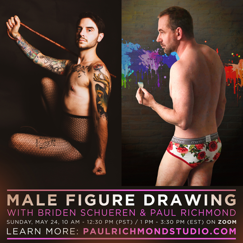 Male figure drawing 2-boyculture