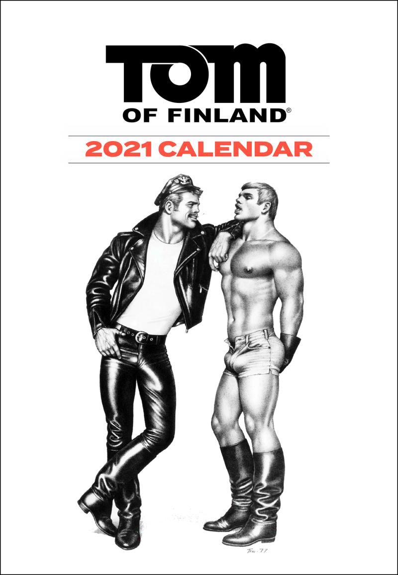 Boyculture-TOM OF FINLAND 2021 CALENDAR