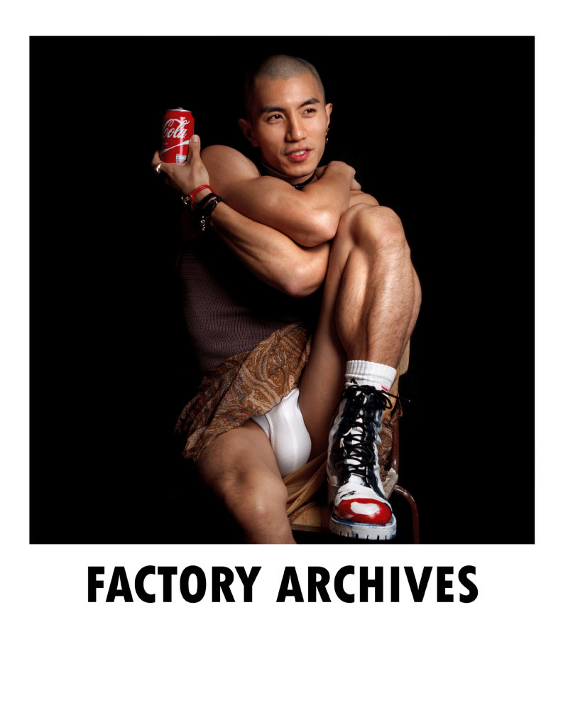 Boyculture-FACTORY ARCHIVES N1 - Wilfred Wong by Baldovino Barani  (3)