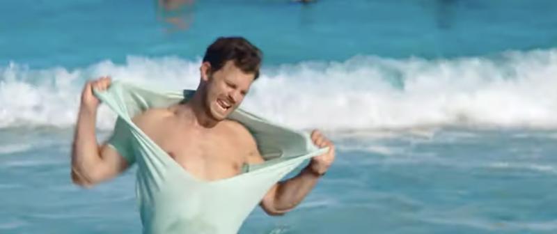 Jamie-dornan-kristen-wiig-barb-star-vista-del-mar-comedy-shirtless-boyculture