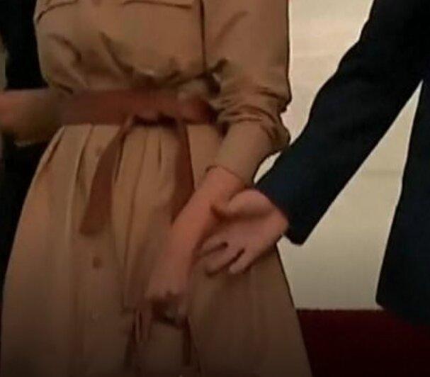 Melania-donald-trump-hold-hands-video-boyculture