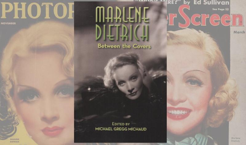 Marlene dietrich book cover michaud gr8erdays